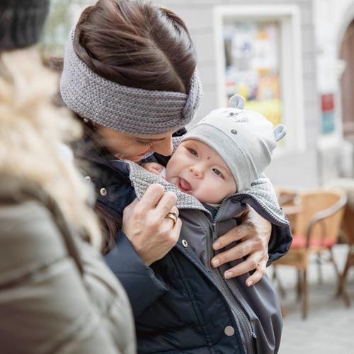 cocoome Jackenerweiterung Winter Umstandsjacke Babytragetuch